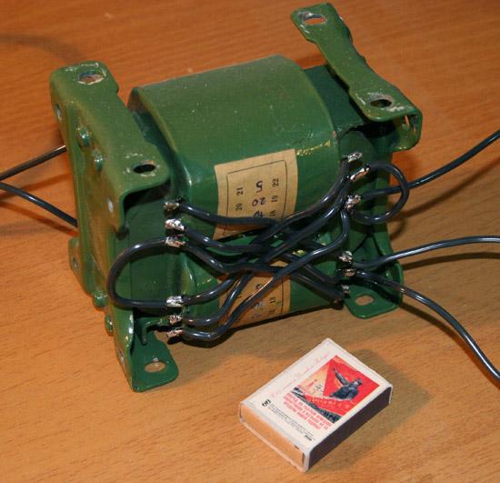 Трансформатор для разморозки труб