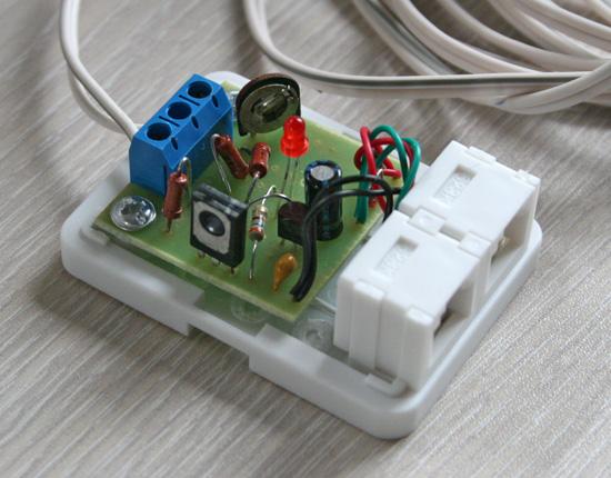 Датчик протечки на шине 1-wire