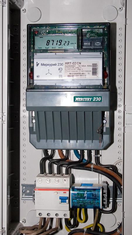 схема подключения меркурий 230 ам-01