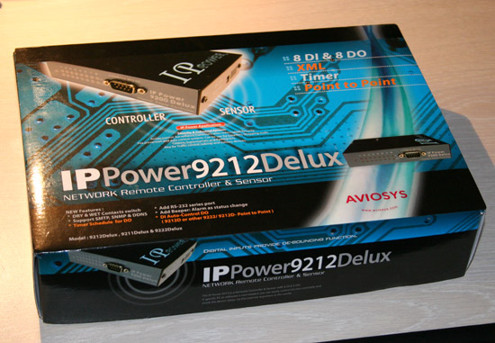 Коробка IP Power 9212 Delux