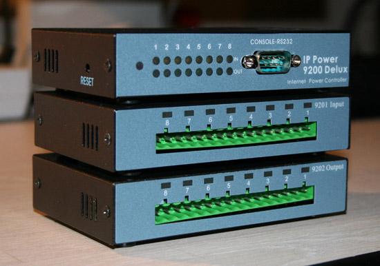Лицевая часть IP Power 9212