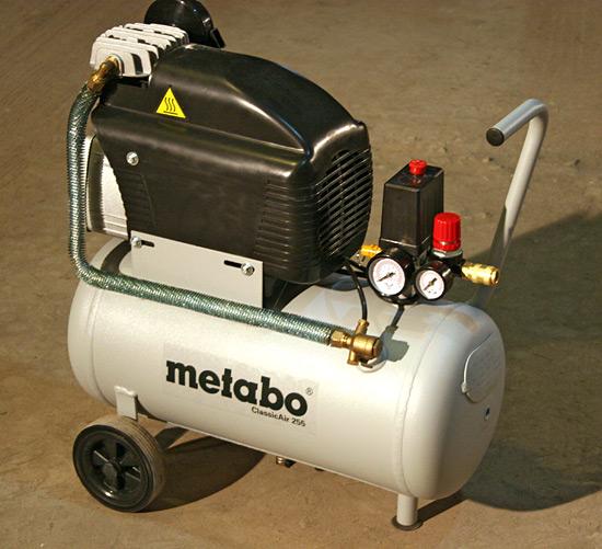 Компрессор Metabo ClassicAir 255. Опыт эксплуатации